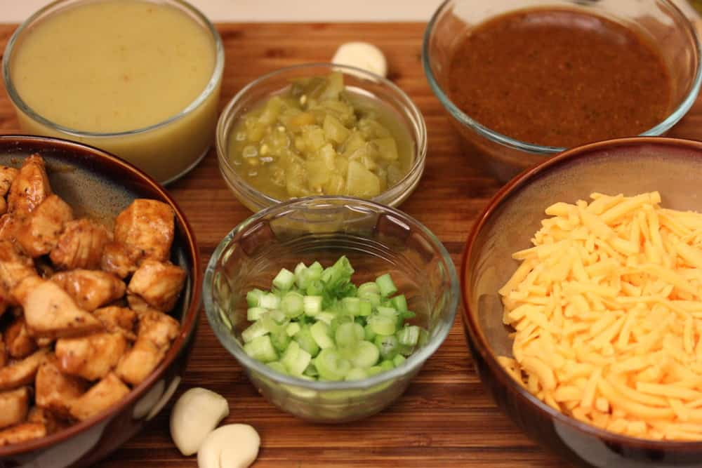 The perfect quesadilla ingredients