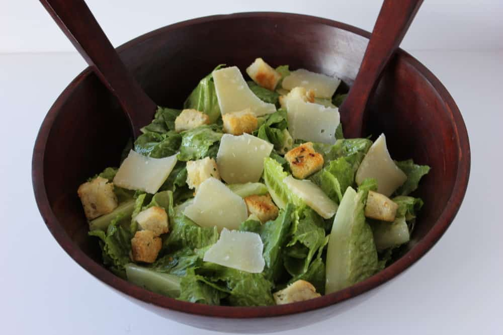 This restaurant-quality Caesar salad is amazing