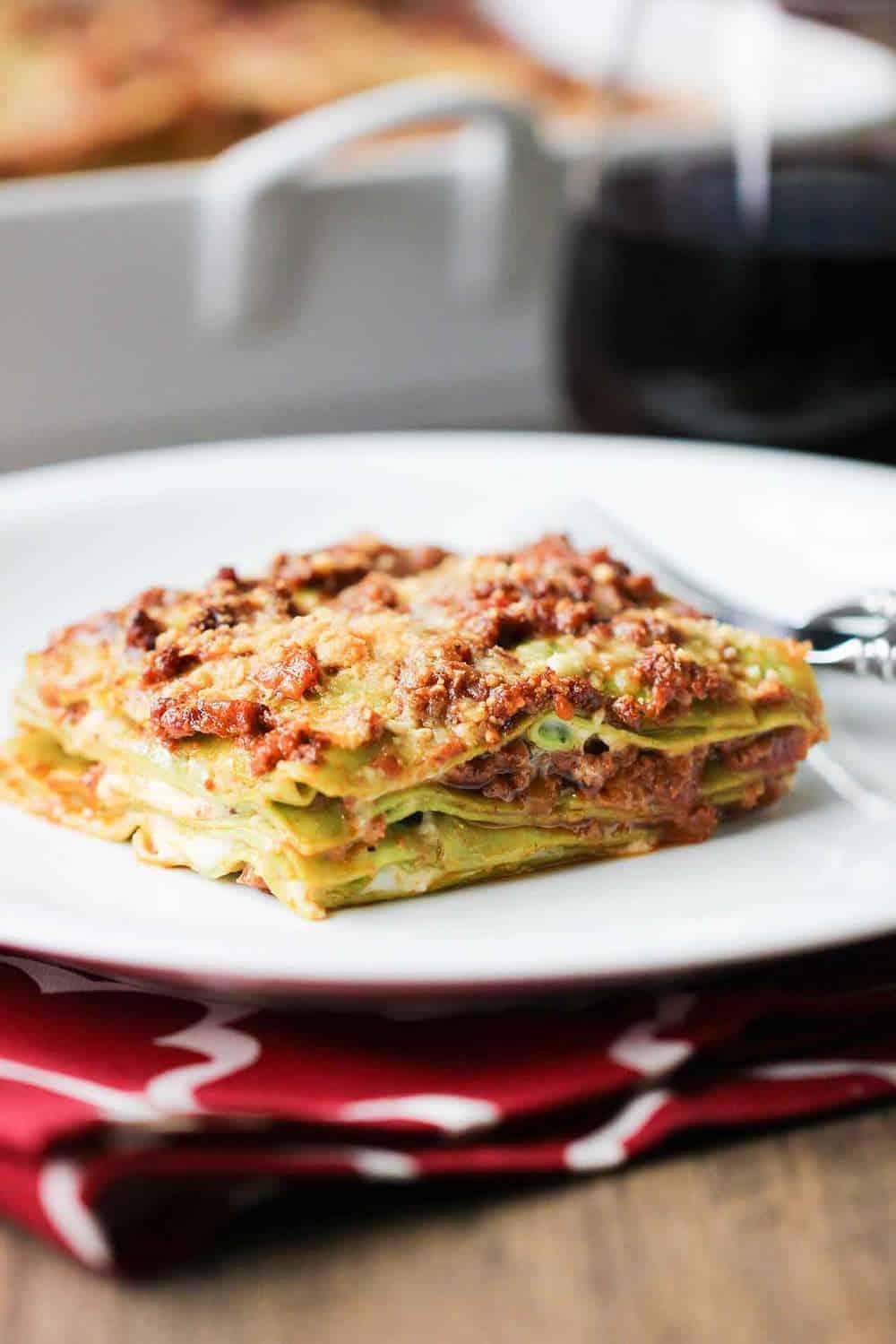 rustic bolognese lasagna recipe