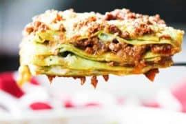 bolognese lasagna recipe