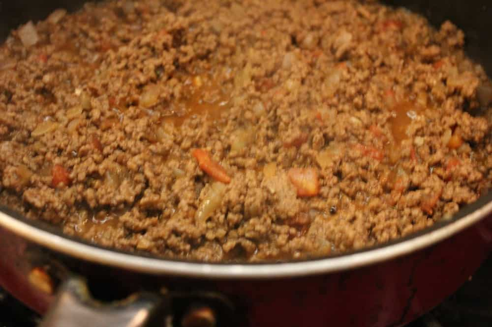 beef filling for authentic beef TexMex tacos