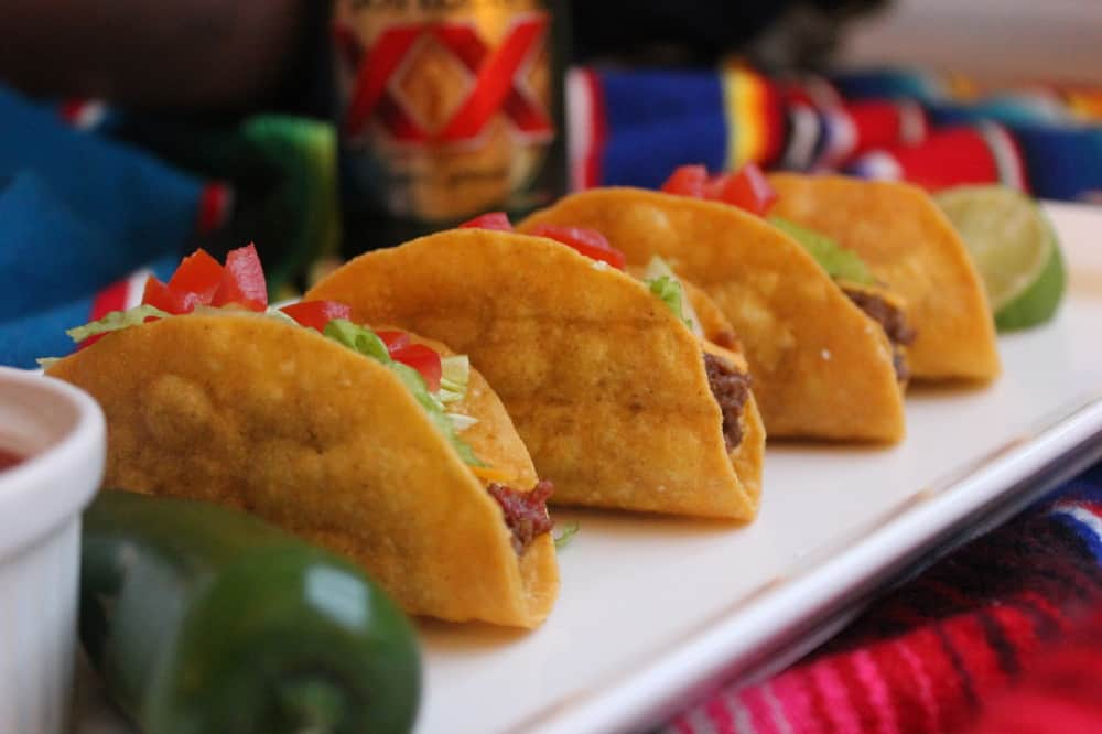 Authentic Beef TexMex Tacos