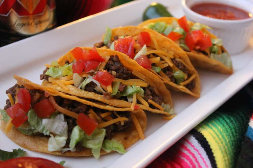 Authentic TexMex Beef Tacos