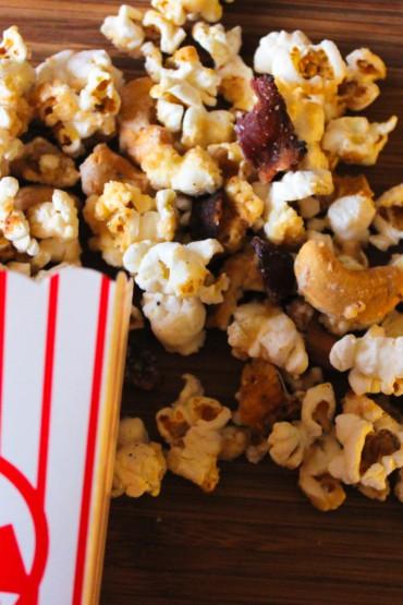 Black Pepper Maple Bacon Popcorn