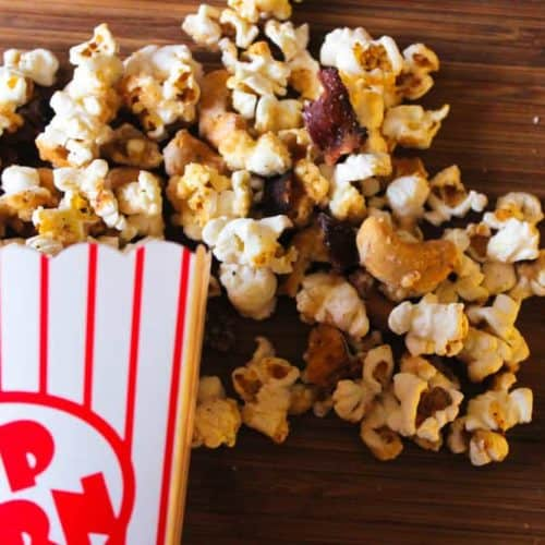 Black Pepper Maple Bacon Popcorn