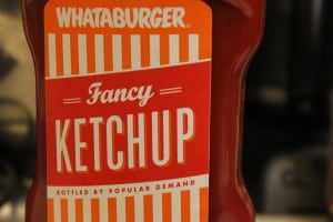 These incredible brisket sandwiches started with a base of Whataburger ketchup