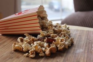 black pepper maple popcorne
