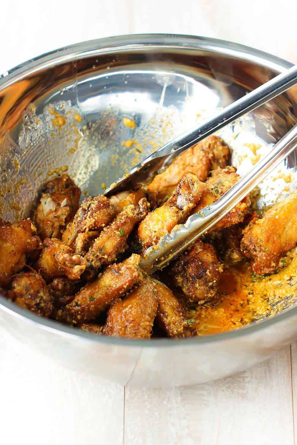 Garlic Parmesan Wings recipe