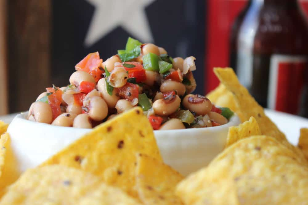 Texas Caviar is perfect for parties - especially the big game!
