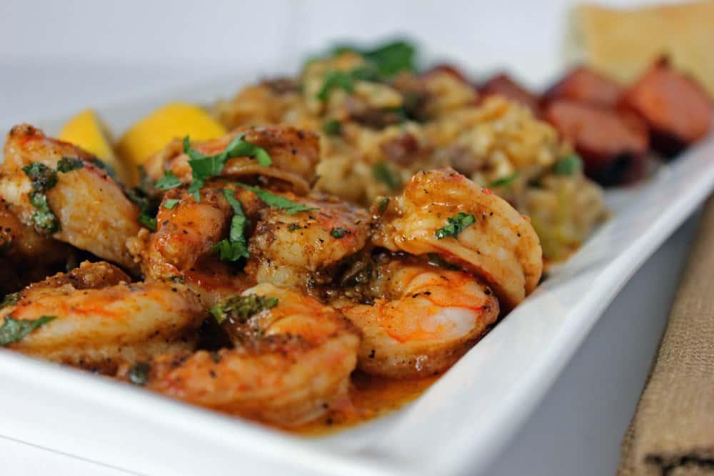 Cajun baked shrimp