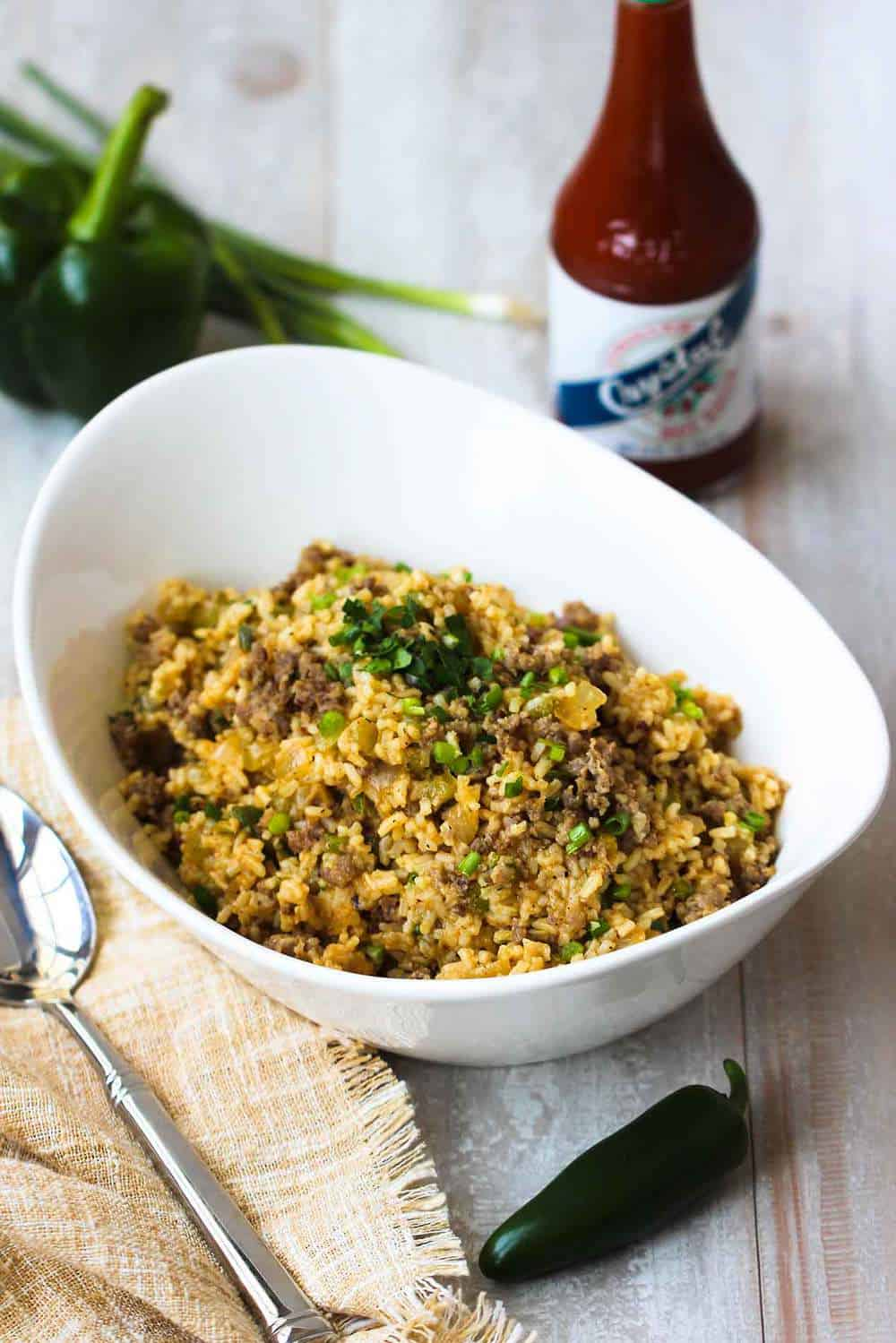 Authentic Cajun Dirty Rice recipe