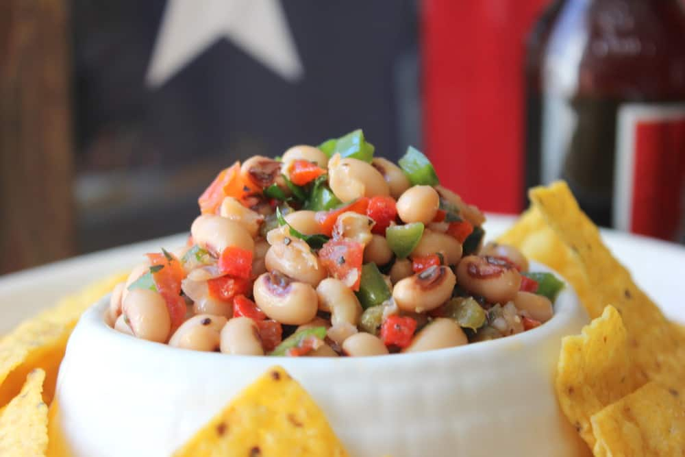 Texas Caviar is awesome for parties, especially the big game day