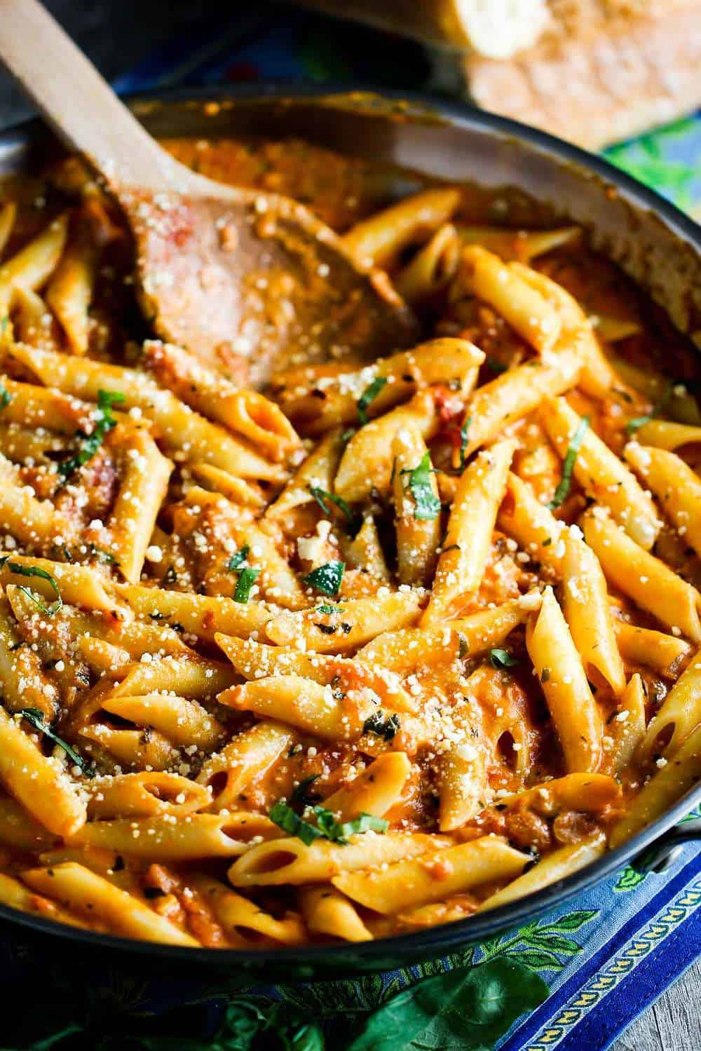 Classic Penne alla Vodka recipe