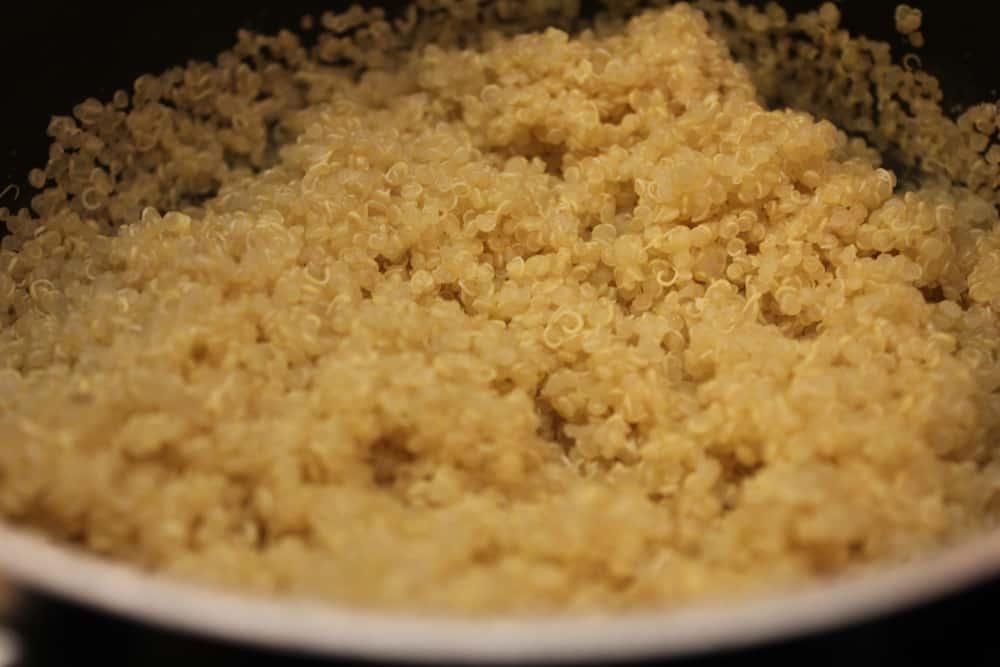 Cooked Quinoa for Sweet Potato and Quinoa Cakes