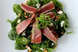 Peppercorn Encrusted Tuna recipe