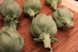 Artichokes for Braised Artichokes