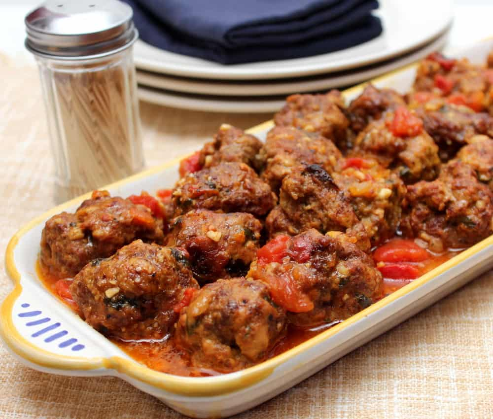 Party Spanish Meatballs