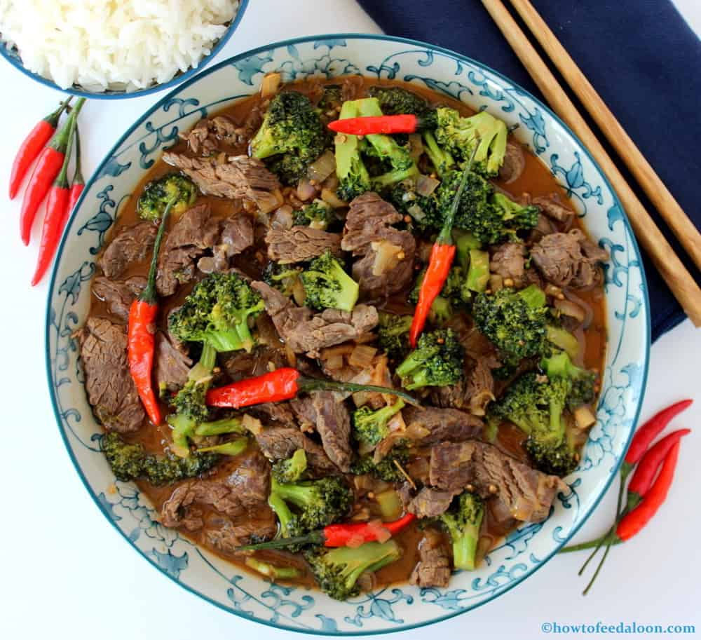 Beef And Broccoli Stir Fry How To Feed A Loon