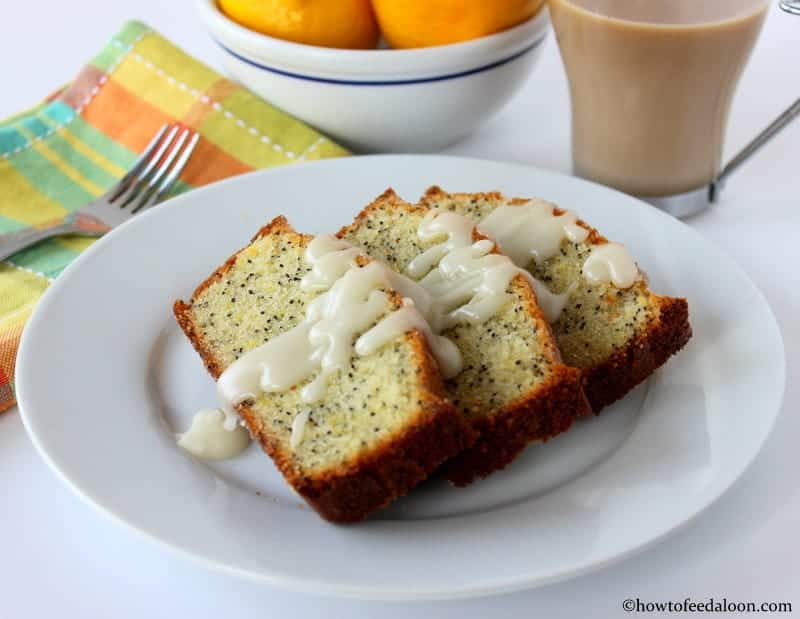 Incredible lemon poppy-seed pound cake