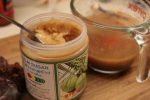 Palm sugar for Pad Thai