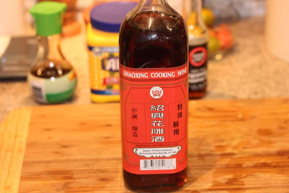 Chinese rice wine can be found at gourmet markets, or Asian markets
