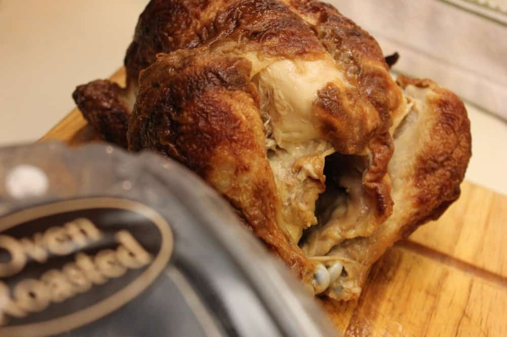 Roasted chicken for Risotto