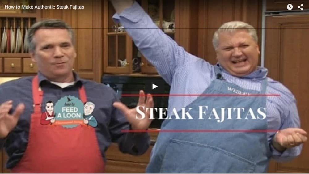 Watch Kris and Wesley make Steak Fajitas