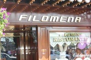 Filomena invites you in