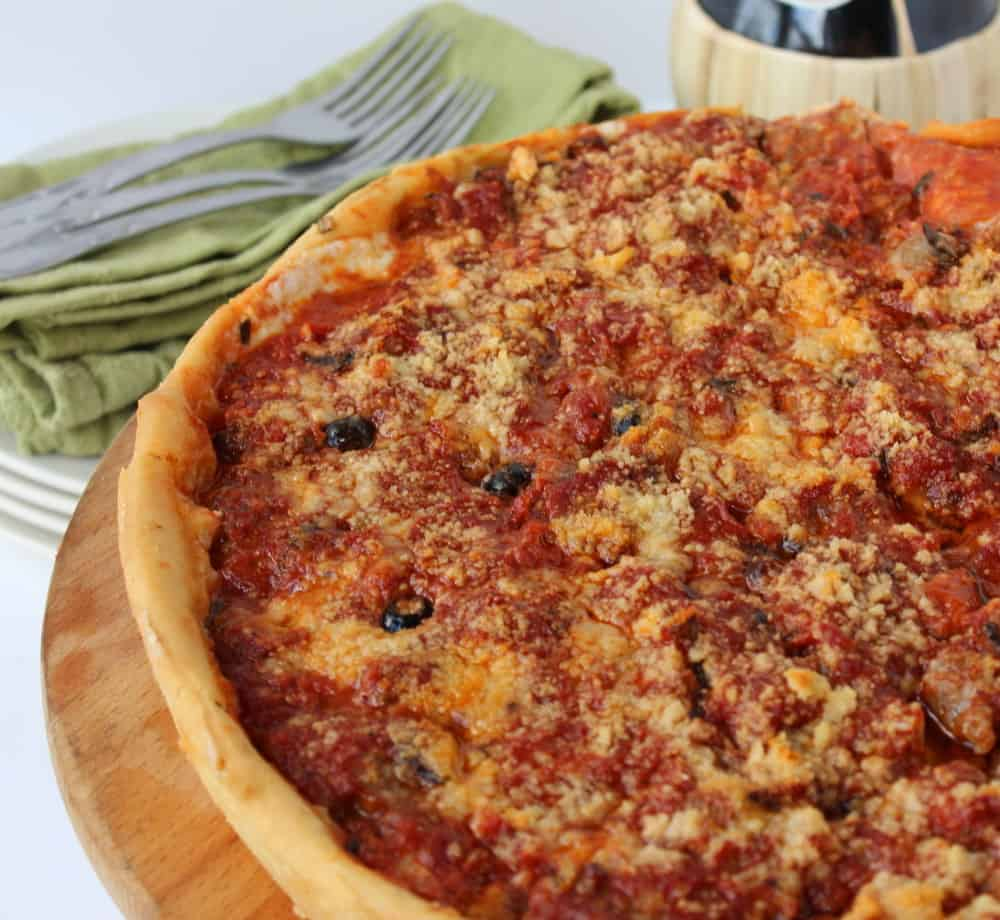 Chicago-Style Deep Dish Pizza - How To Feed A Loon