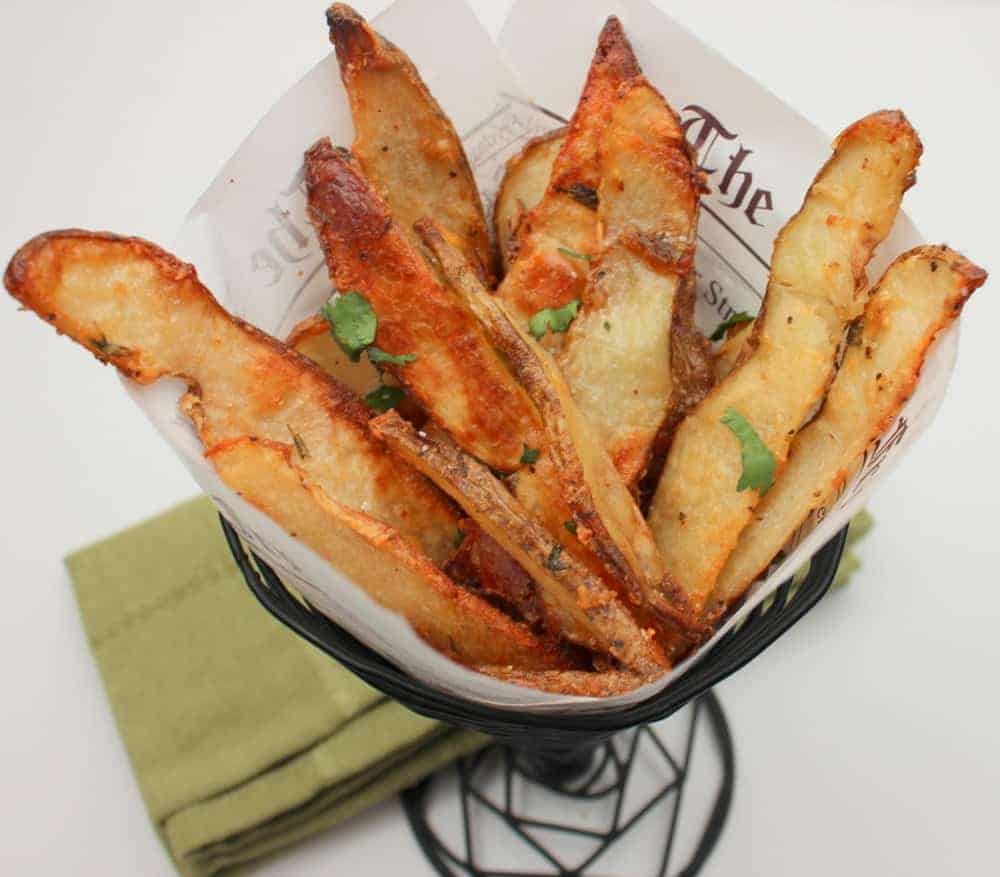 Garlic and Parmesan Fries
