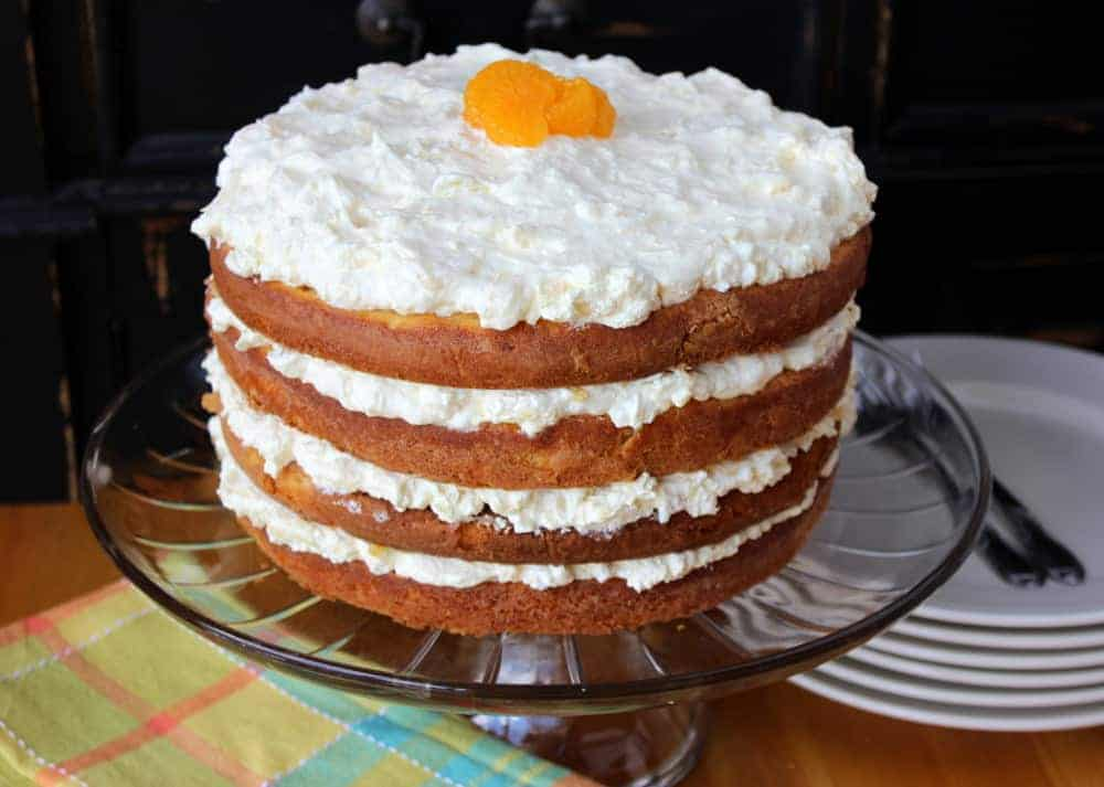 Orange Carrot Cake Recipe