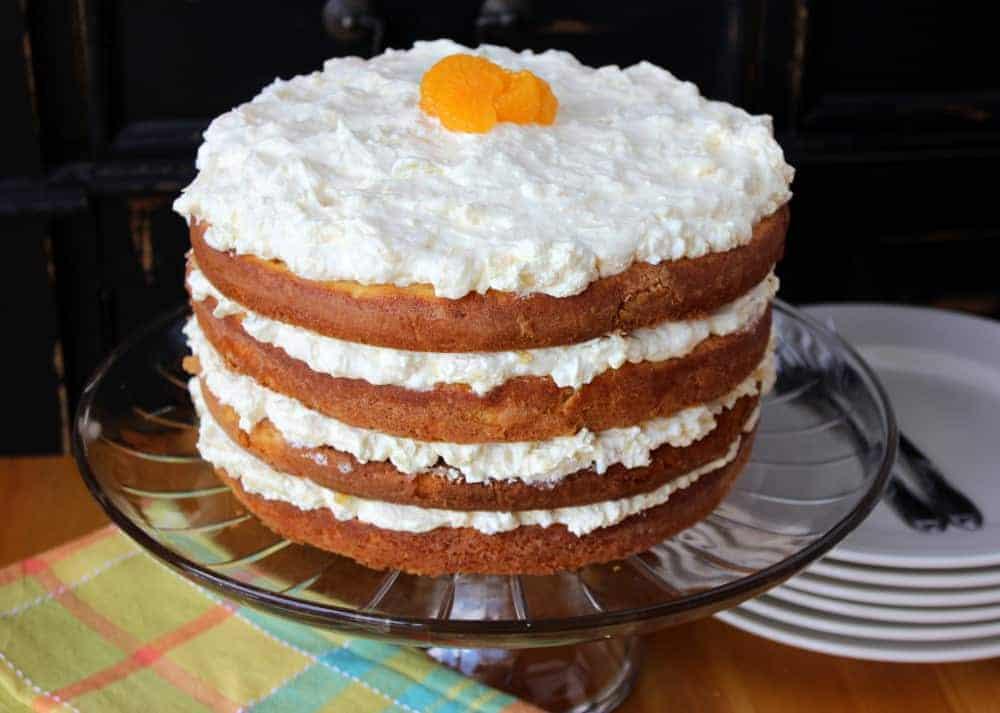 Mandarin Orange Cake - How To Feed A Loon
