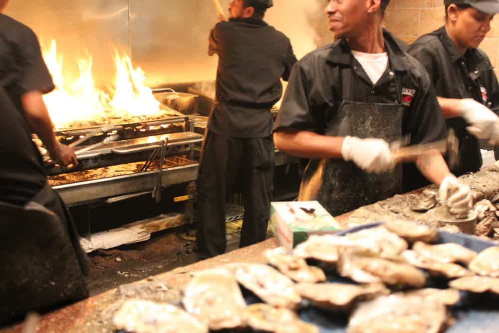 Grilled oysters.  Yes!!