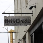 New Orleans Butcher Sign