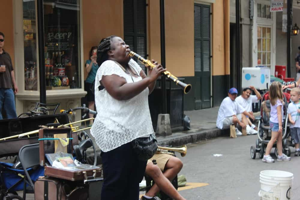 Amazing music everywhere, even from the streets...