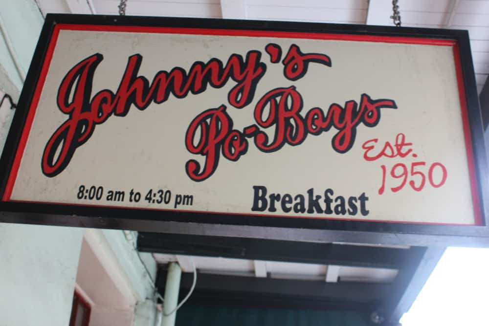 Johnny's classic Po-Boys