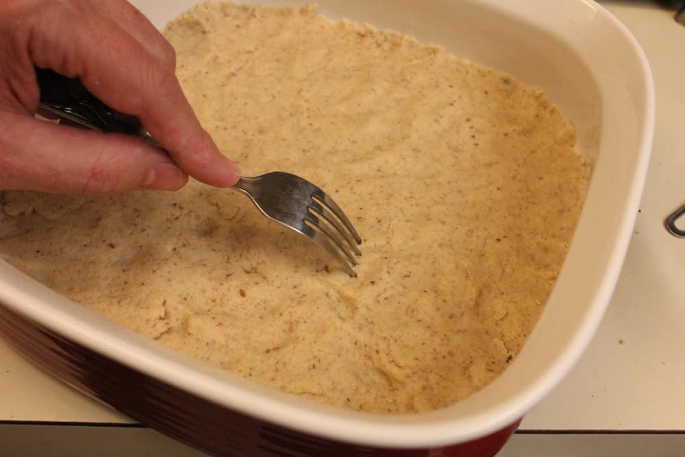 Pecan Short Bread Crust