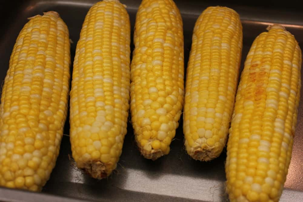 Corn from the garden