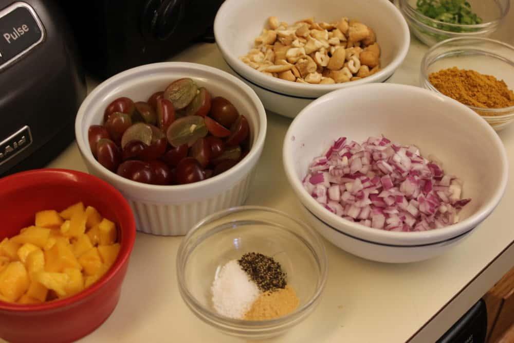 curreid chicken salad ingredients