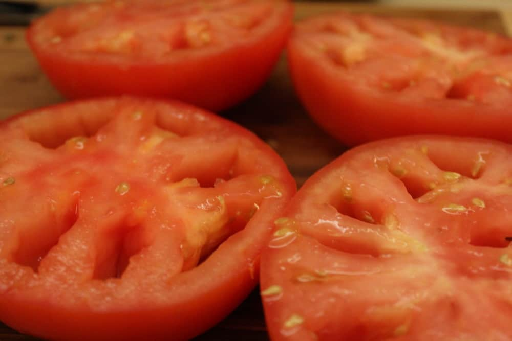 Stuffed tomatoes are amazing