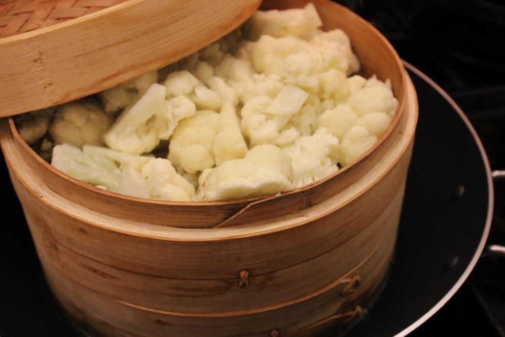 cauliflower steamed