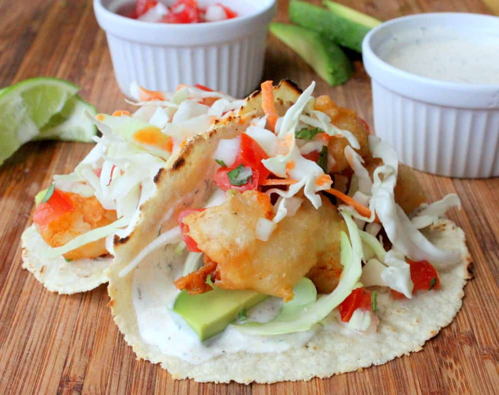 Baja fish tacos how to feed a loon for Best fish taco recipe in the world