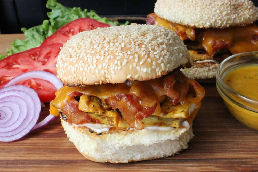 Grilled Honey Mustard Chicken Sandwiches - How To Feed A Loon