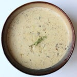 Cream of mushroom soup - from scratch