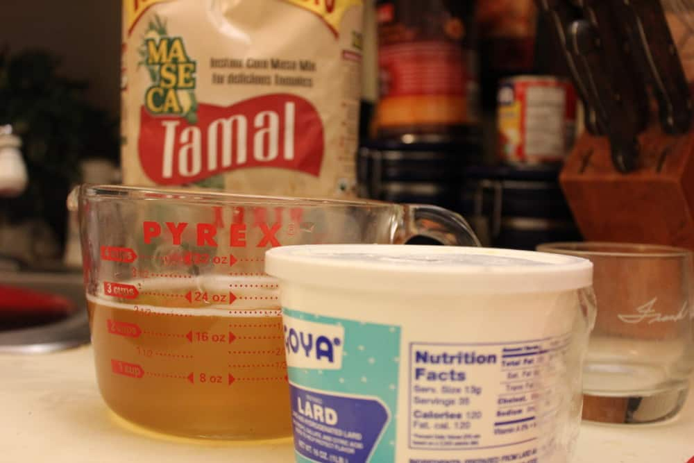 Tamale Batter Ingredients