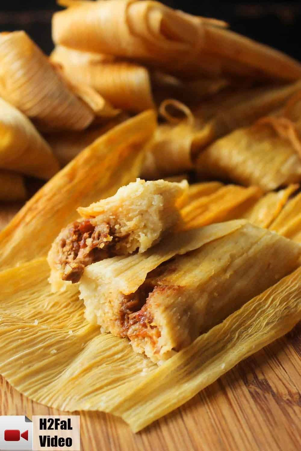 Authentic Homemade Tamales How To Feed A Loon