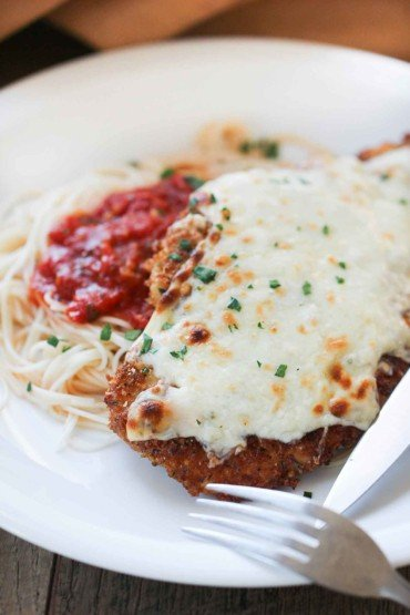 Authentic Chicken Parmesan recipe