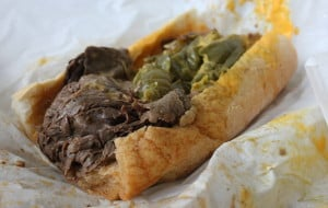 Al's Italian Beef - Wet with Peppers and Cheese
