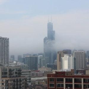 Foggy Chicago
