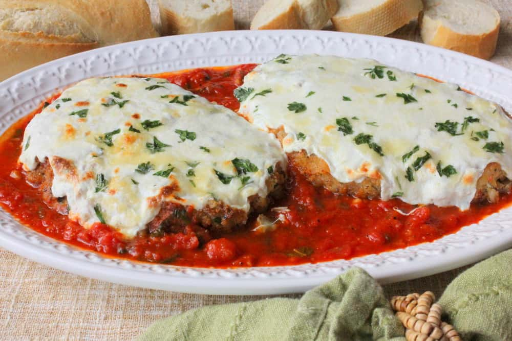 Authentic Chicken Parmigiana - How To Feed A Loon